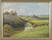 Steinbach, Eduard (Hamburg 1878 - 1939) Öl/Lwd.