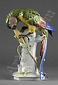 Großer Papagei Auf achteckigem Sockel profilierter, Arthur Storch, Click for value