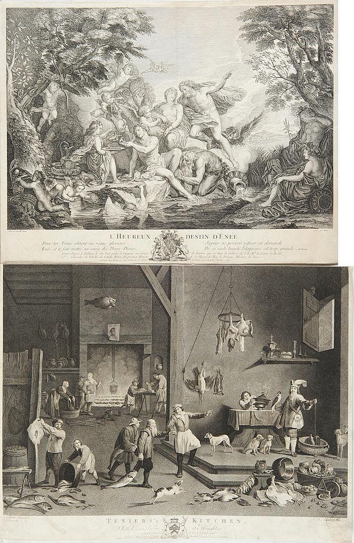 Moitte, Pierre Etienne (1722 - 1780) Kupferstich.