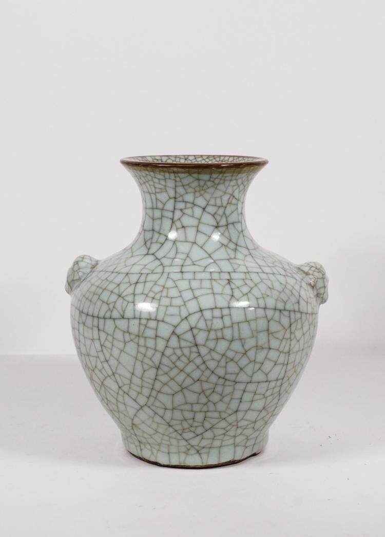 Chinese Ge Type Porcelain Vase