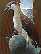 Murray Griffin (1903-1992) Heron 1938 linocut 23/25, Murray Griffin, Click for value