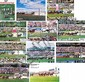 COLLECTION OF MELBOURNE CUP RACE FINISH POSTERS 1981-1990 68.5cm x 88cm