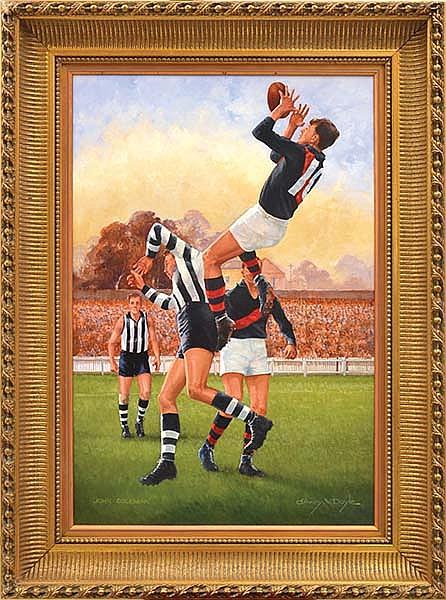 D'ARCY DOYLE (1932-2001) John Coleman oil on canvas