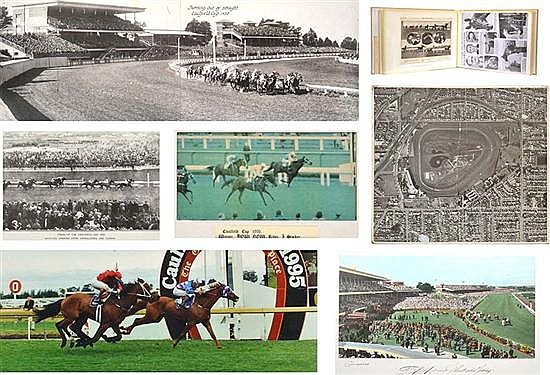 LARGE COLLECTION OF CAULFIELD PHOTOGRAPHS Largest 78cm x 99cm