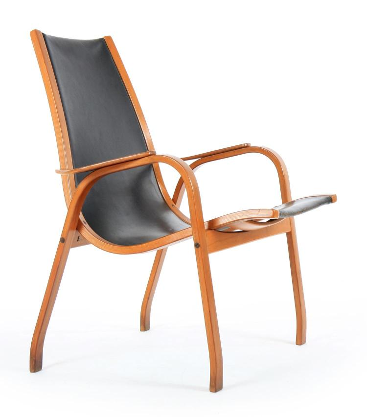 YNGVE EKSTRÖM 'LAMINO' CHAIR FOR SWEDESE