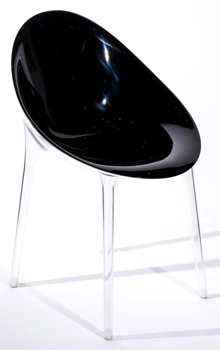 PHILIPPE STARCK MR. IMPOSSIBLE CHAIRS FOR KARTELL; SET OF SIX