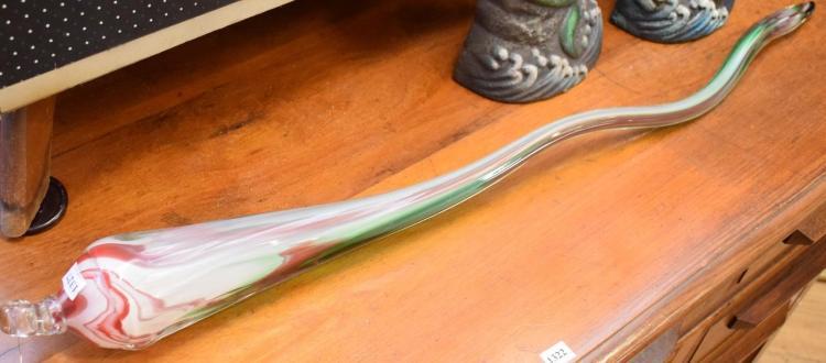 A RIKARO ART GLASS SHARD