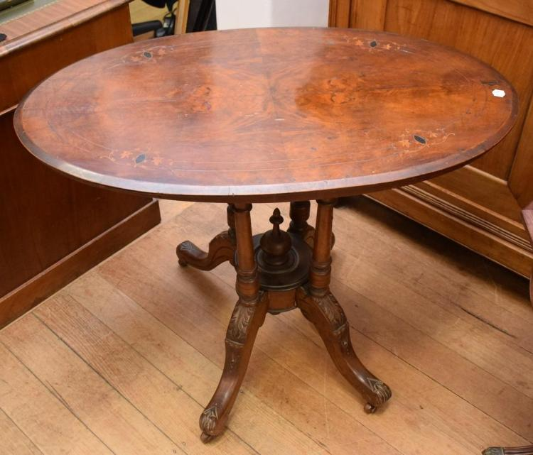 A VICTORIAN STYLE TABLE