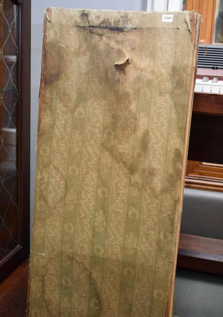 A FRENCH STYLE FOLDING SCREEN