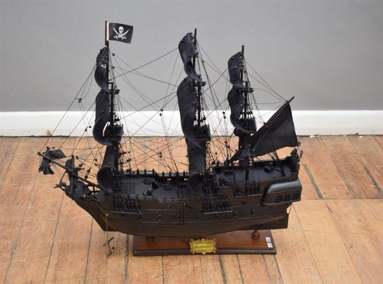 A MODEL PIRATE SHIP