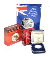 A BAG OF ASSORTED COMMEMORATIVE AUSTRALIAN COINS