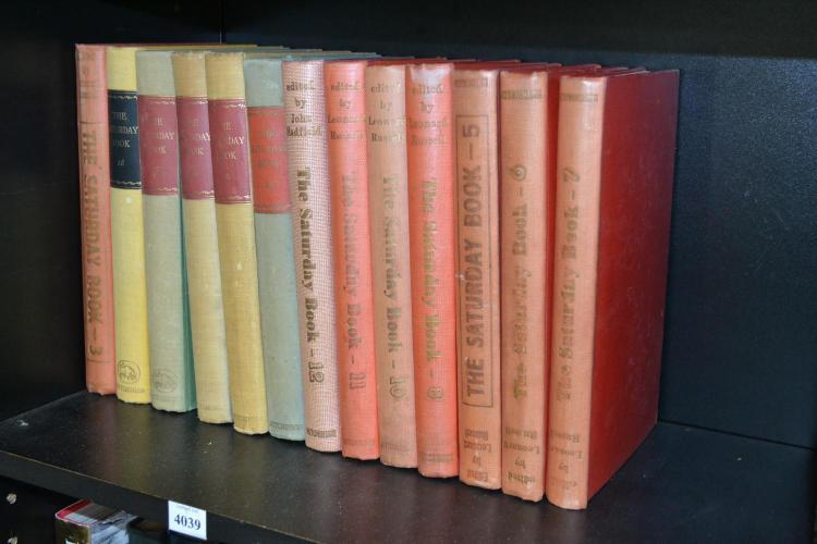A SHELF OF 'THE SATURDAY BOOK'S