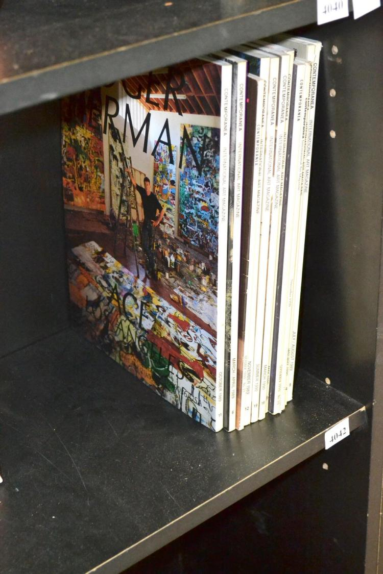 A COLLECTION OF 11 'CONTEMPORANEA' ART PUBLICATIONS FROM 1989-1991