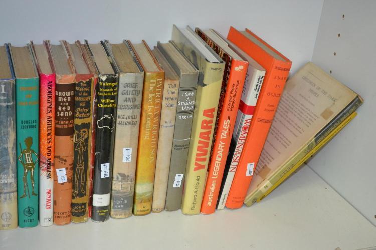 A SHELF OF AUSTRALIAN INDIGENOUS BOOKS