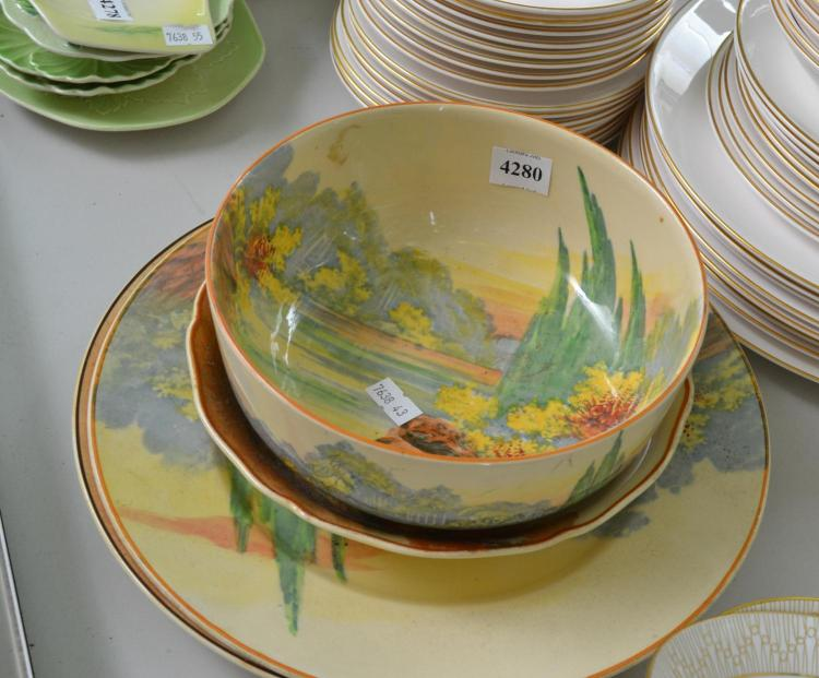 A COLLECTION OF ROYAL DOULTON SERIES WARE DISHES