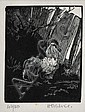 HELEN OGILVIE (1902-1993) The Emperor linocut 42/50