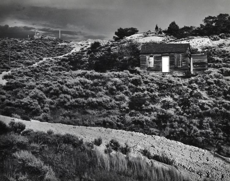 RYUIJIE DOUGLAS (AMERICAN, b. 1950) Pair of Untitled works (Cabin theme) silver gelatin print on original mount