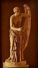 ADOLPHE BRAUN (FRENCH, 1812-1877) Two views of Fille De Niobé, Florence carbon print on original mount (2)
