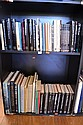 TWO SHELVES OF ASSORTED INTERNATIONAL ART REFERENCE INCL AMERICAN ART, DUTCH ETC
