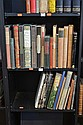 ONE AND A HALF SHELVES OF LITERATURE AND PRIVATE PRESS BOOKS INCL RONALD SEARLE