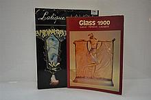 TWO BOOKS CONCERNING DECORATIVE ART GLASS