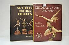 TWO BOOKS REFFERING TO DECORATIVE ART