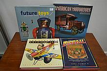 FOUR TOYS AND COLLECTIBLES REFERENCE BOOKS