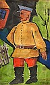 ARTIST UNKNOWN (RUSSIAN SCHOOL) Soldier watercolour