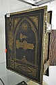 BROWN'S HOLY BIBLE, LEATHER BOUND WITH BRASS MOUNTS, ILLUSTRATED