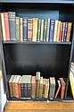 TWO SHELVES OF ASSORTED VINTAGE BOOKS INCLUDING BURNS ETC