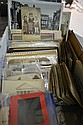 COLLECTION OF EARLY PHOTOGRAPHY AND RELATED ITEMS INCL. CABINET CARDS, SNAPSHOTS, ADVERTISING, PANORAMIC VIEWS ETC