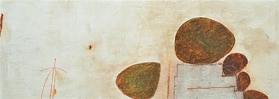 CONCHITA CARAMBANO (born 1961) Step Me Up oil and mixed media on canvas