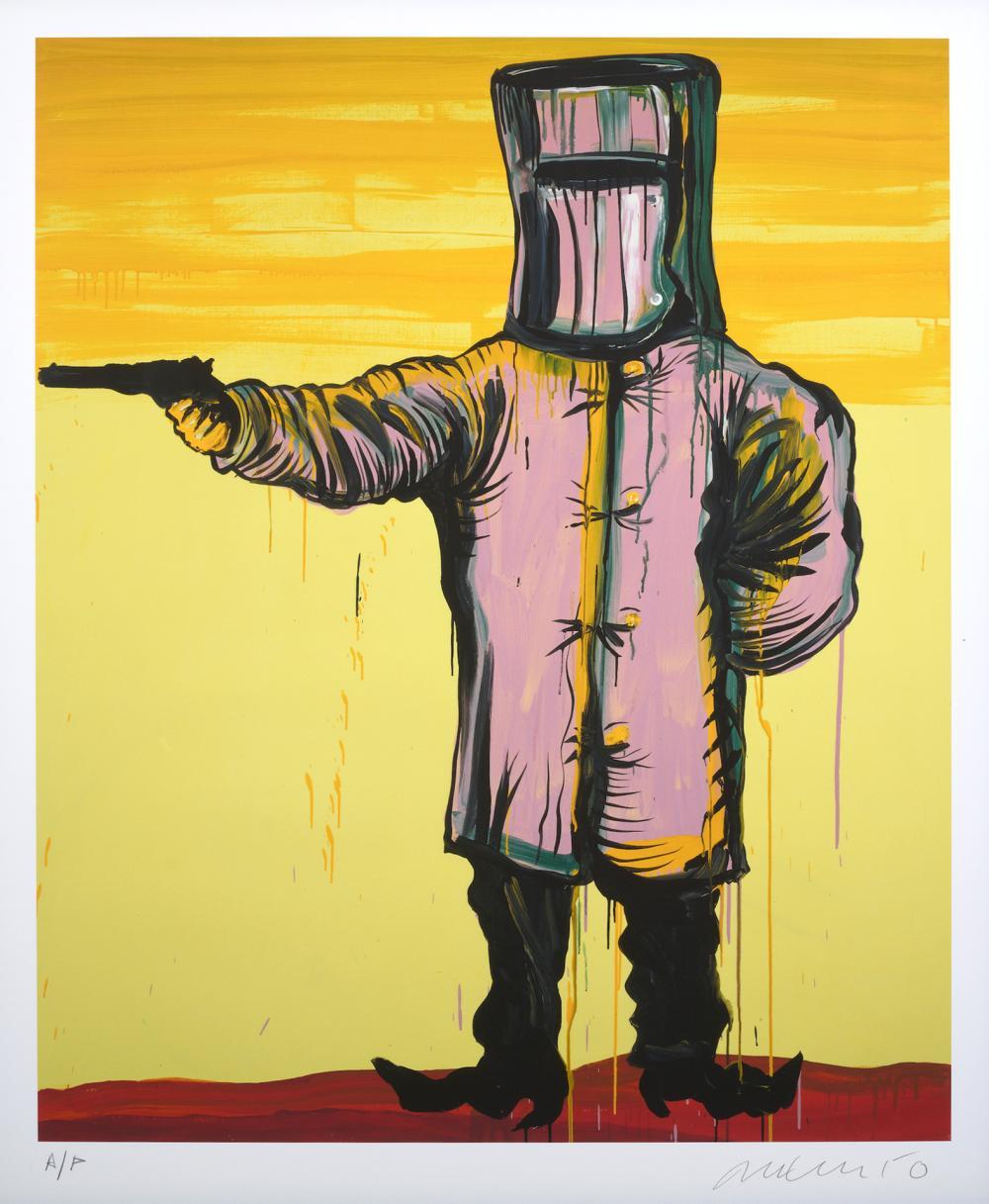 § ADAM CULLEN (1965-2012) Edward Kelly at Glenrowan 2010 archival pigment print, ed. A/P