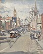 DORA L. WILSON (1883-1946) Russell Street oil on canvas on board, Dora Wilson, Click for value