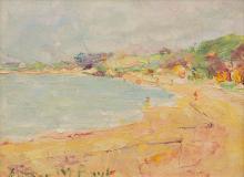 ARTHUR BOYD (1920-1999) Dromana c.1940 oil on canvas on board