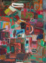 RONALD LAMBERT (1923-1995) Moonlight c.1992 oil on canvas