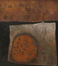 ARCH CUTHBERTSON (born 1924) Abstract mixed media on board