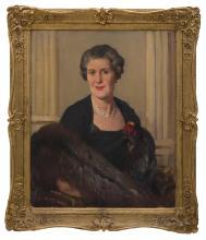 HAROLD SEPTIMUS POWER (1878-1951) Portrait of Dorothy Wilson oil on canvas