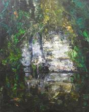 GEOFFREY DYER (born 1947) Rock Outcrops, Lower Gorden River II oil on canvas