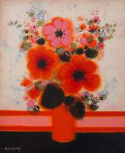 FREDERIC MENGUY (French, 1927-2007) Bouquet oil on canvas
