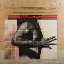 ROBERT BOYNES (born 1942) Skin Cage II 1973 mixed media on paper