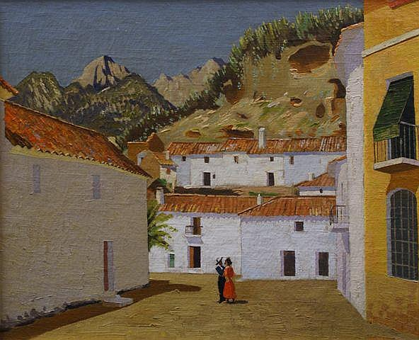 Norman Lloyd (1897-1985), Spanish Landscape