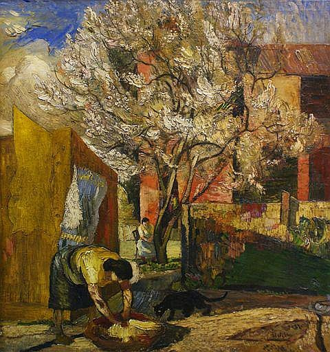 Harald Vike (1906-1987), The Almond Tree (1943)