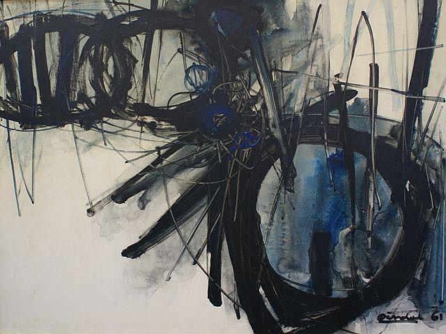 Stan Rapotec (1913-1997), (Untitled) 1961
