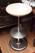 AN ITALIAN INSITU CHROME BAR STOOL