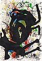 after JOAN MIRO (SPANISH, 1893-1983) Sobreteixims circa 1973 lithograph