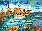 JOHN PERCEVAL (1923-2000) Ships at Williamstown screenprint 92/99