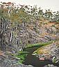 DAVID ROSE (1936-2006) At Iron Pot Creek near Jindabyne 1993 screenprint 44/80