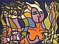 DEBORAH HALPERN (BORN 1957) Mermaid 2003 lithograph 9/65