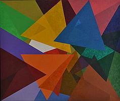 TONY WOODS (BORN 1940) A Specific form of other Such Forms 1995-1996 acrylic on canvas